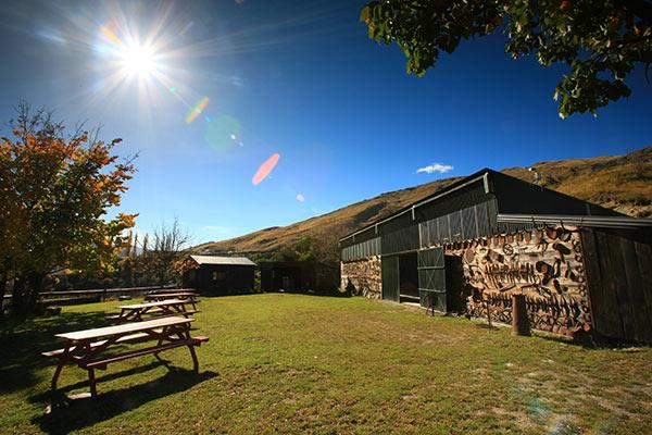 Conference Barn Outside