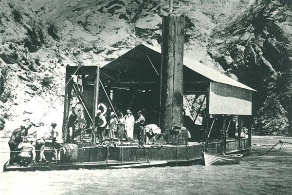 Skippers Historic Dredge