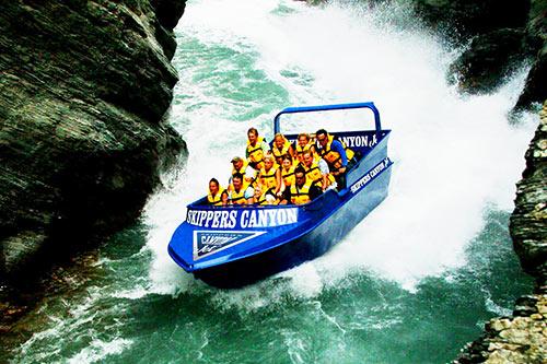 Jet Boat ride Queenstown