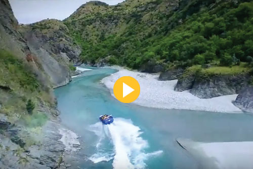 Skippers Canyon Jet Video 2015